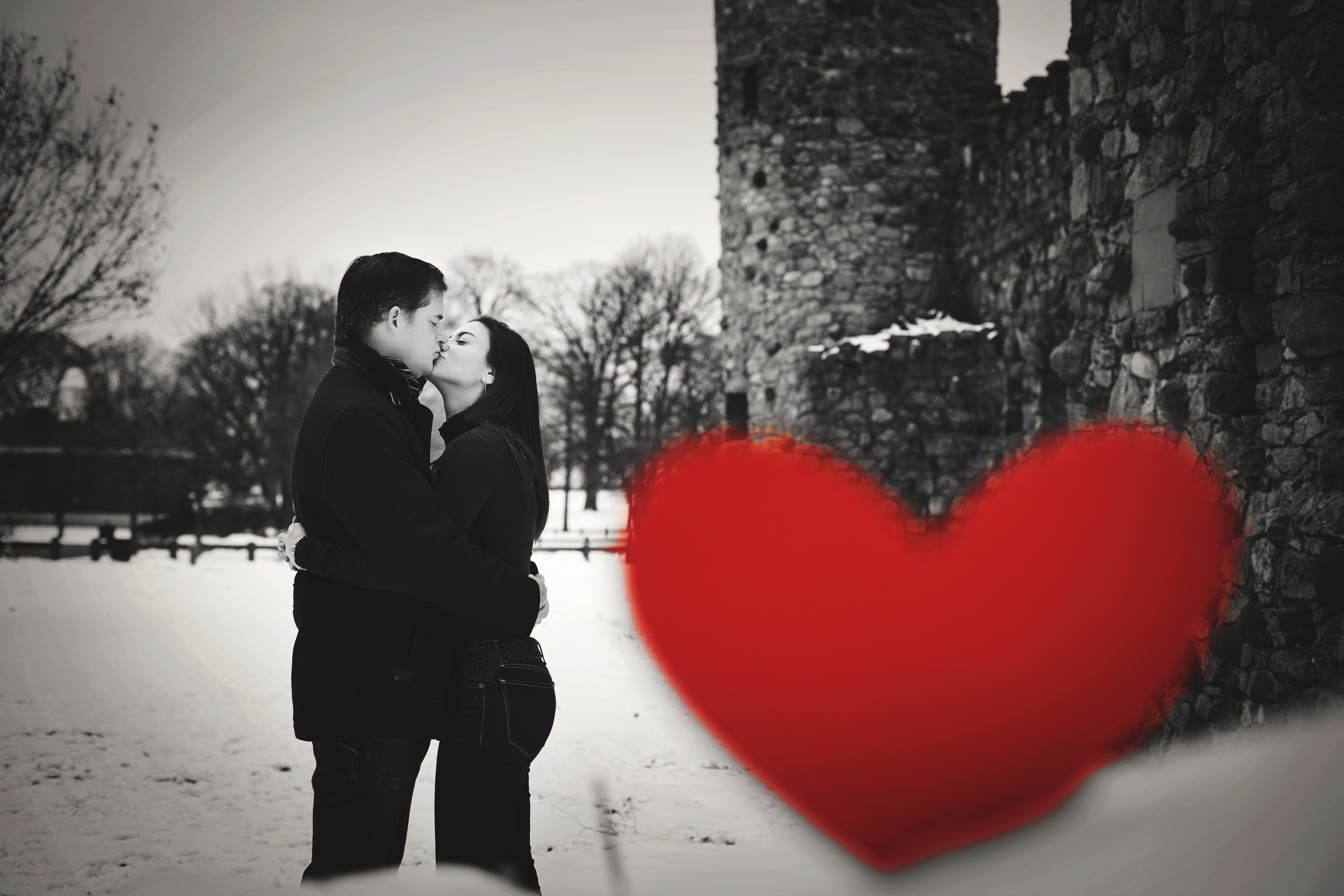 Engagement Photography in Glen Island Park