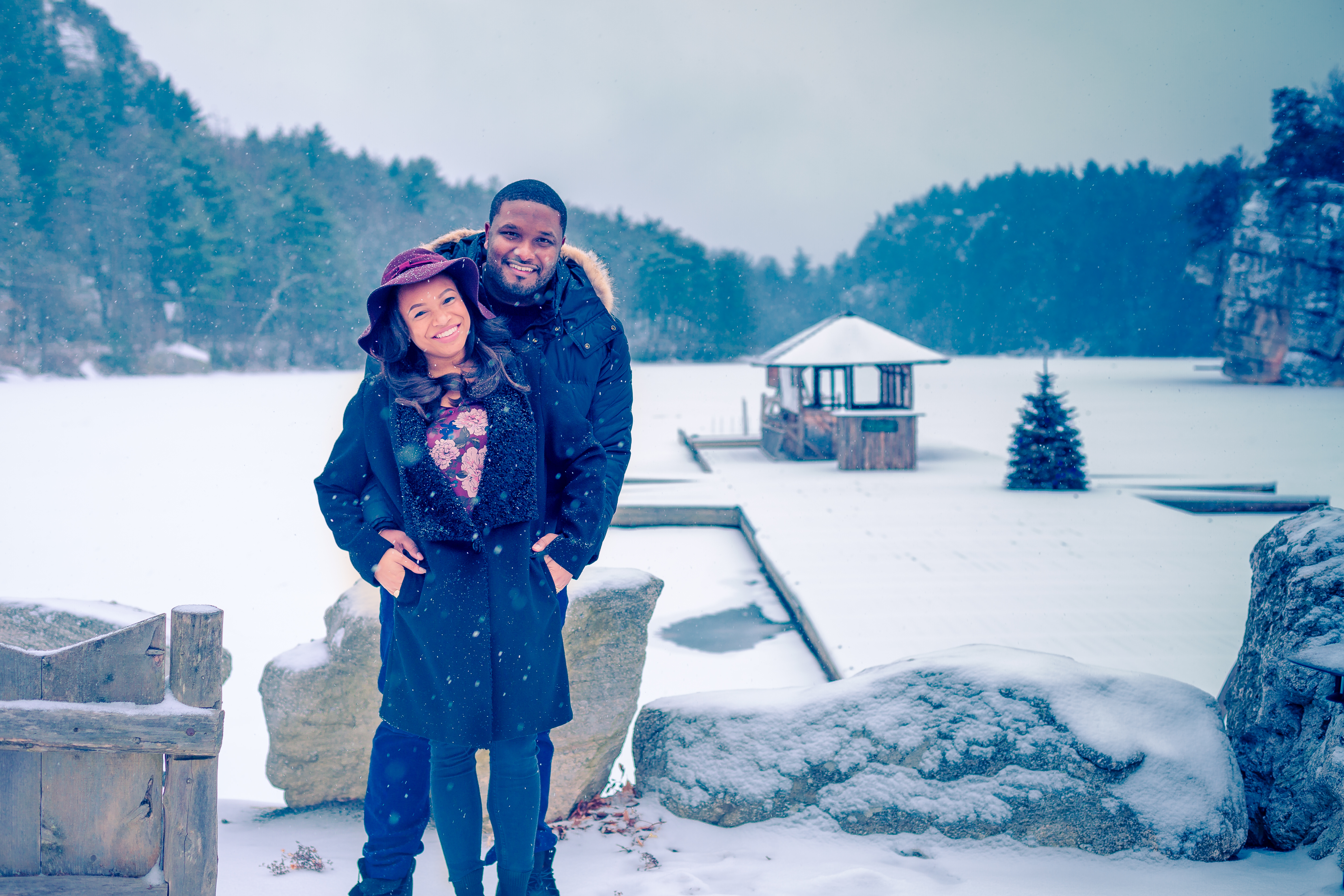 Engagement Photography in Mohonk Mountain