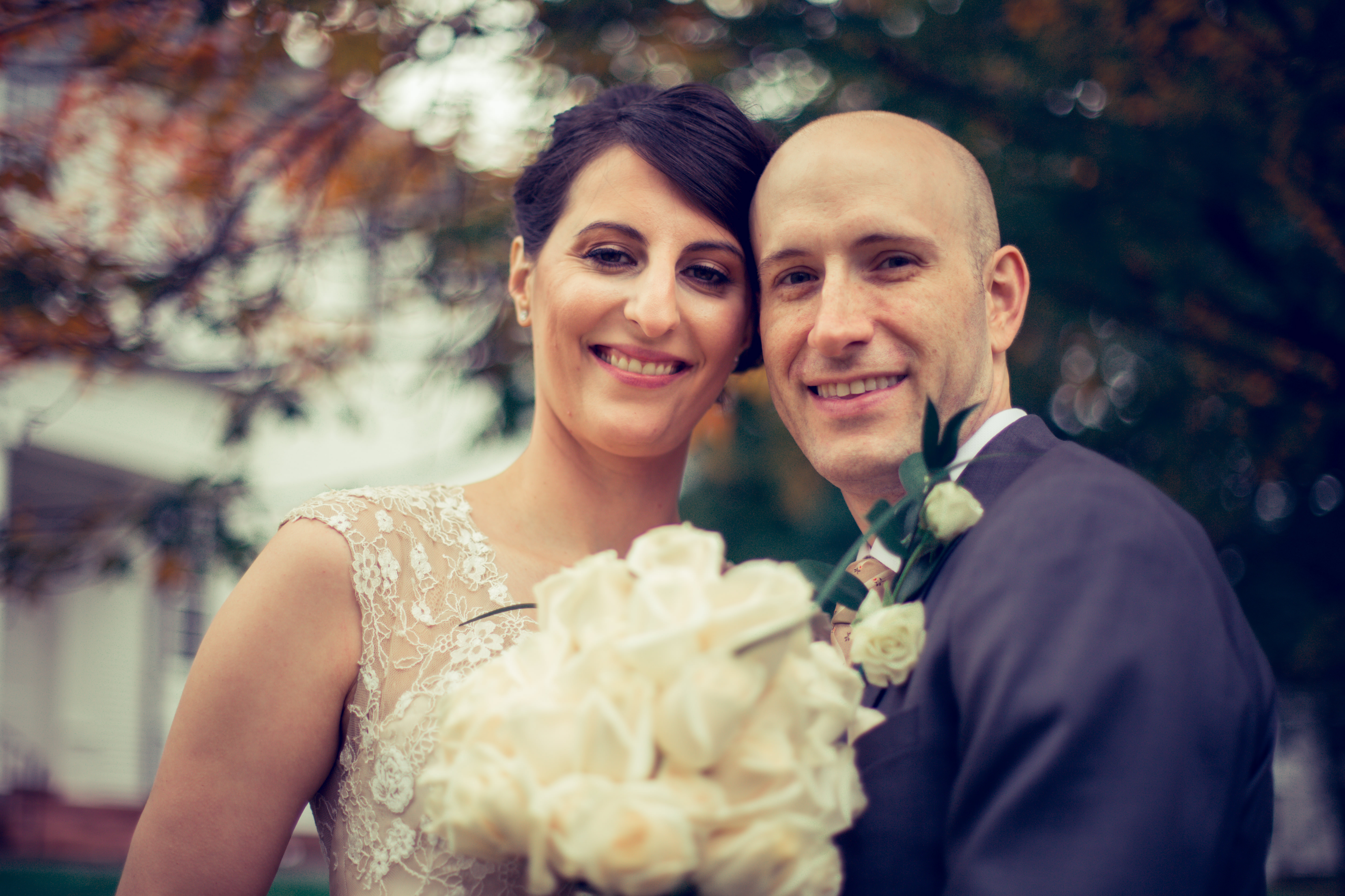 Wedding Photography in the First Church of Christ in Farmington CT