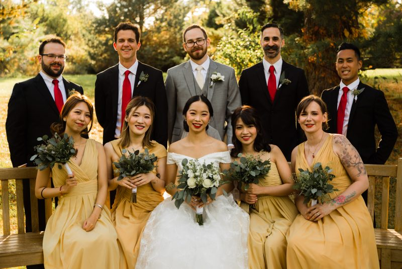 Wedding Photography in Rutgers Gardens