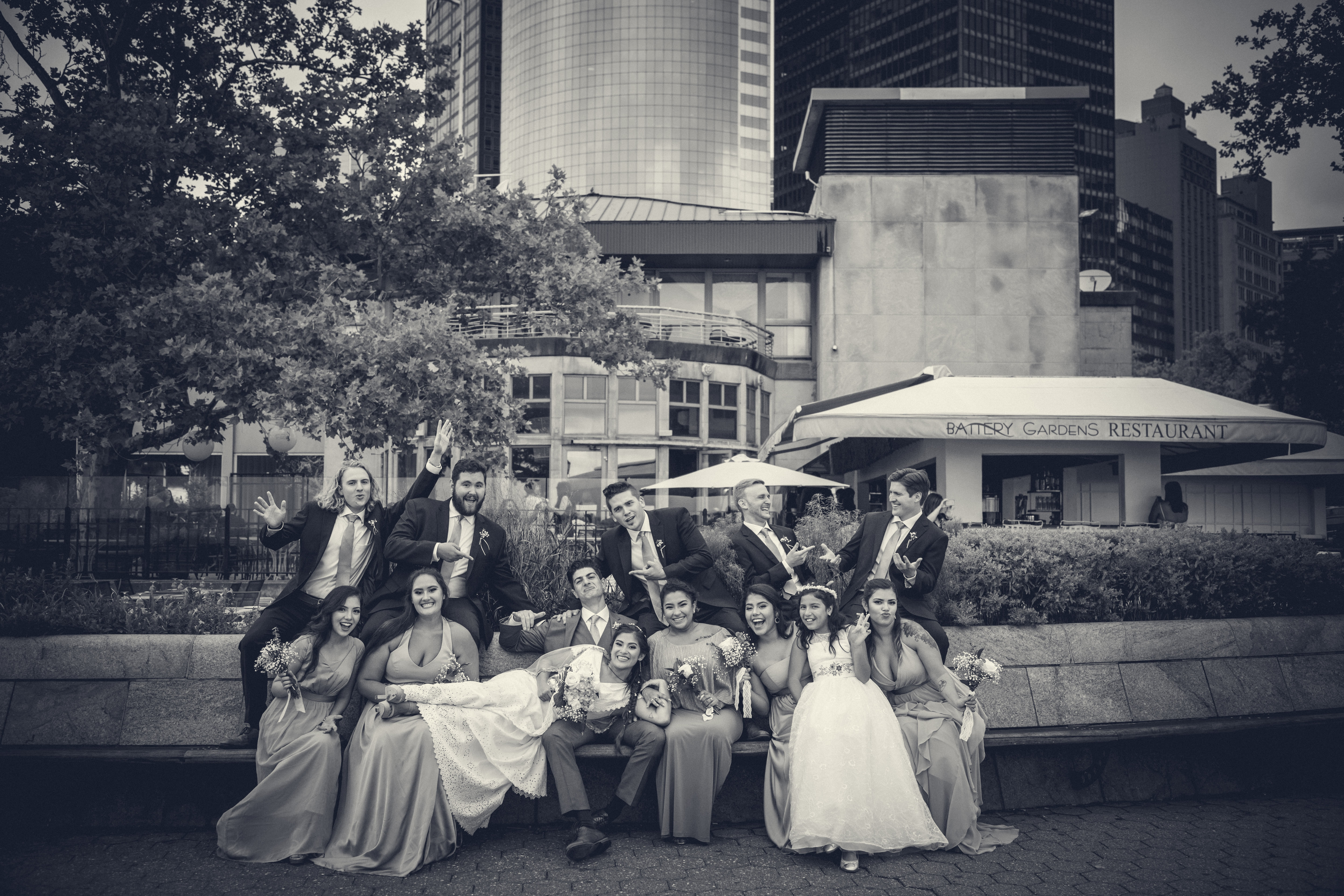 Wedding Photography in Battery Gardens