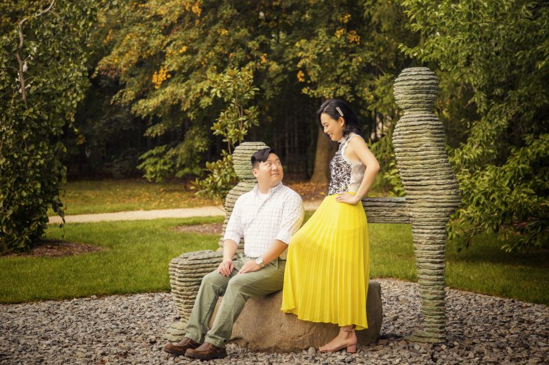 Wedding Photography in Grounds For Sculpture Hamilton New Jersey