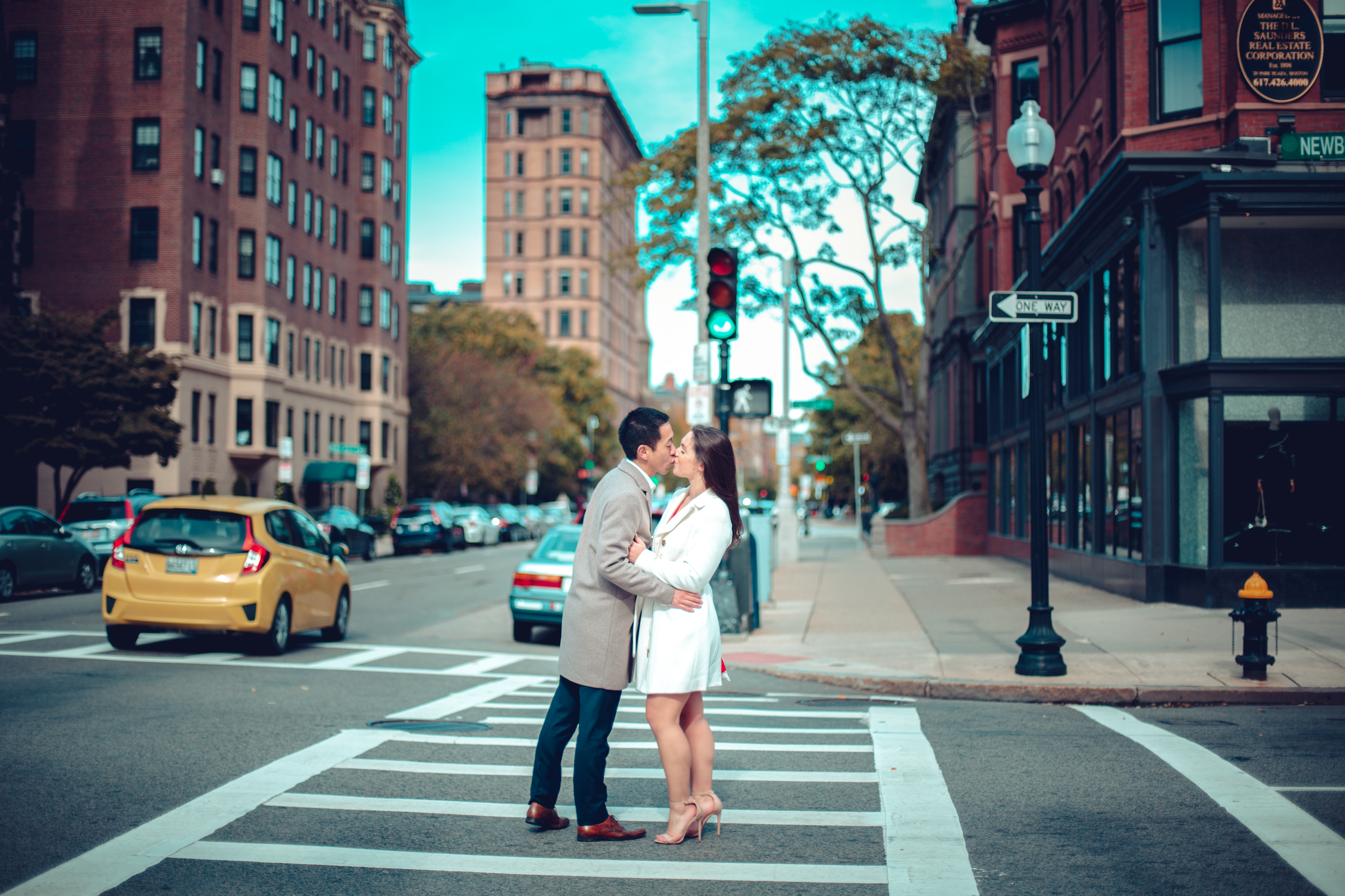 Engagement Photographer in Boston