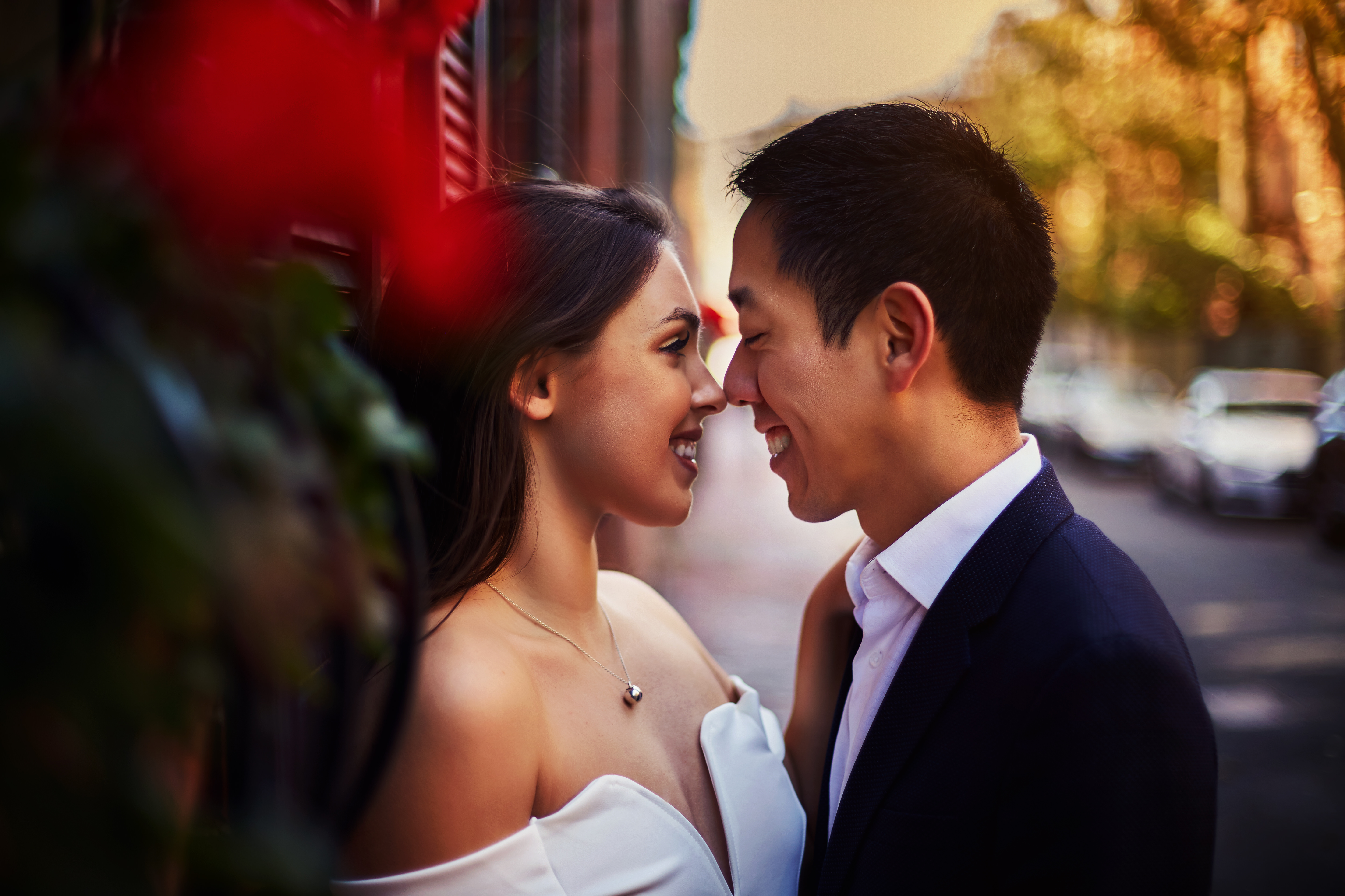 Engagement Photography in Boston Public Garden