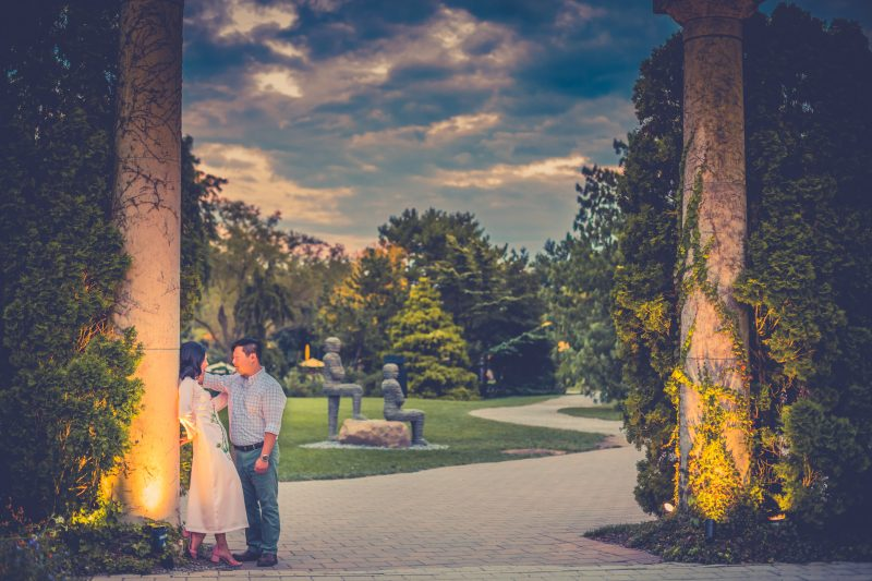 Destination Wedding in Grounds For Sculpture