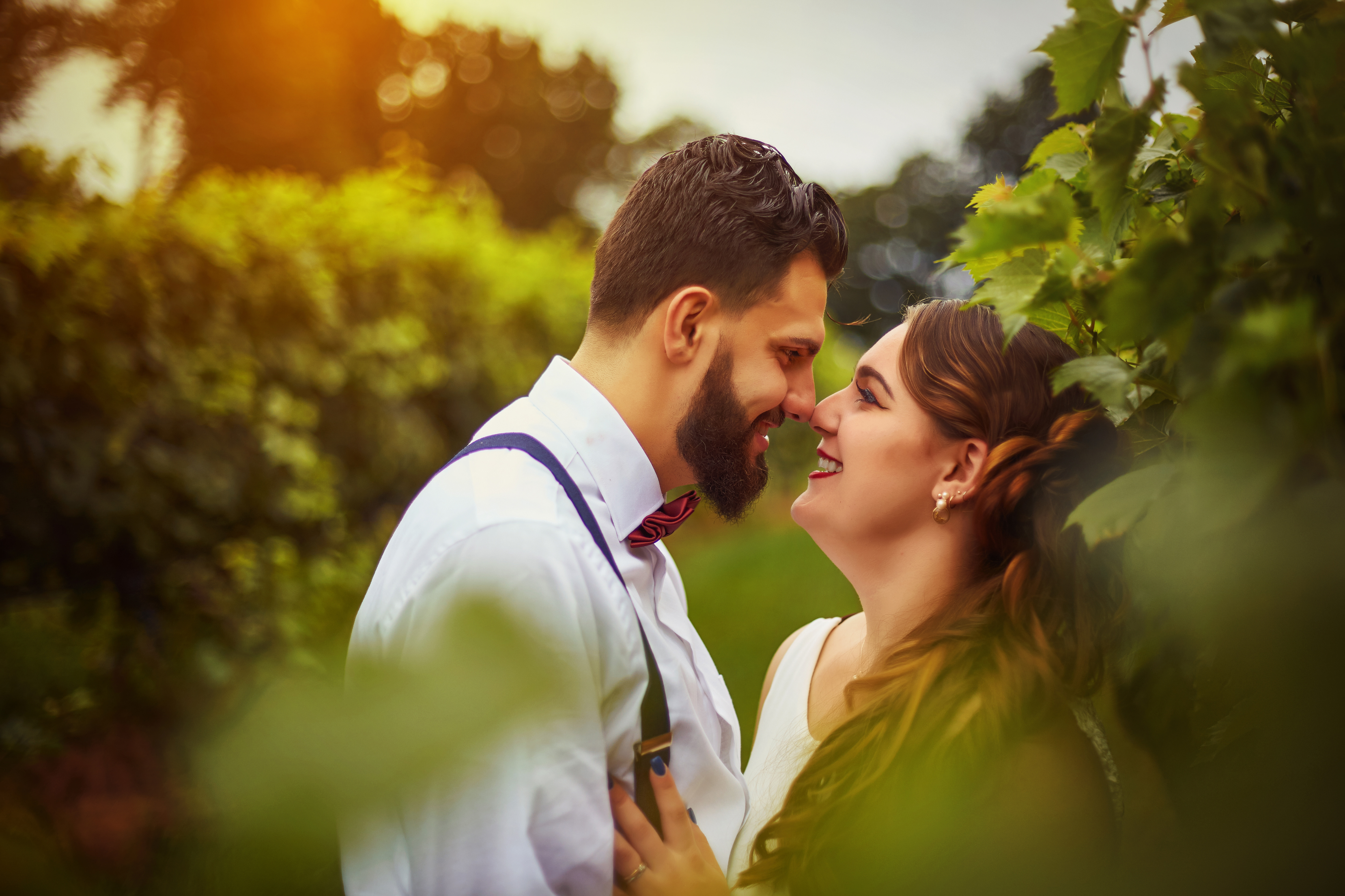 Wedding Photography in Winery