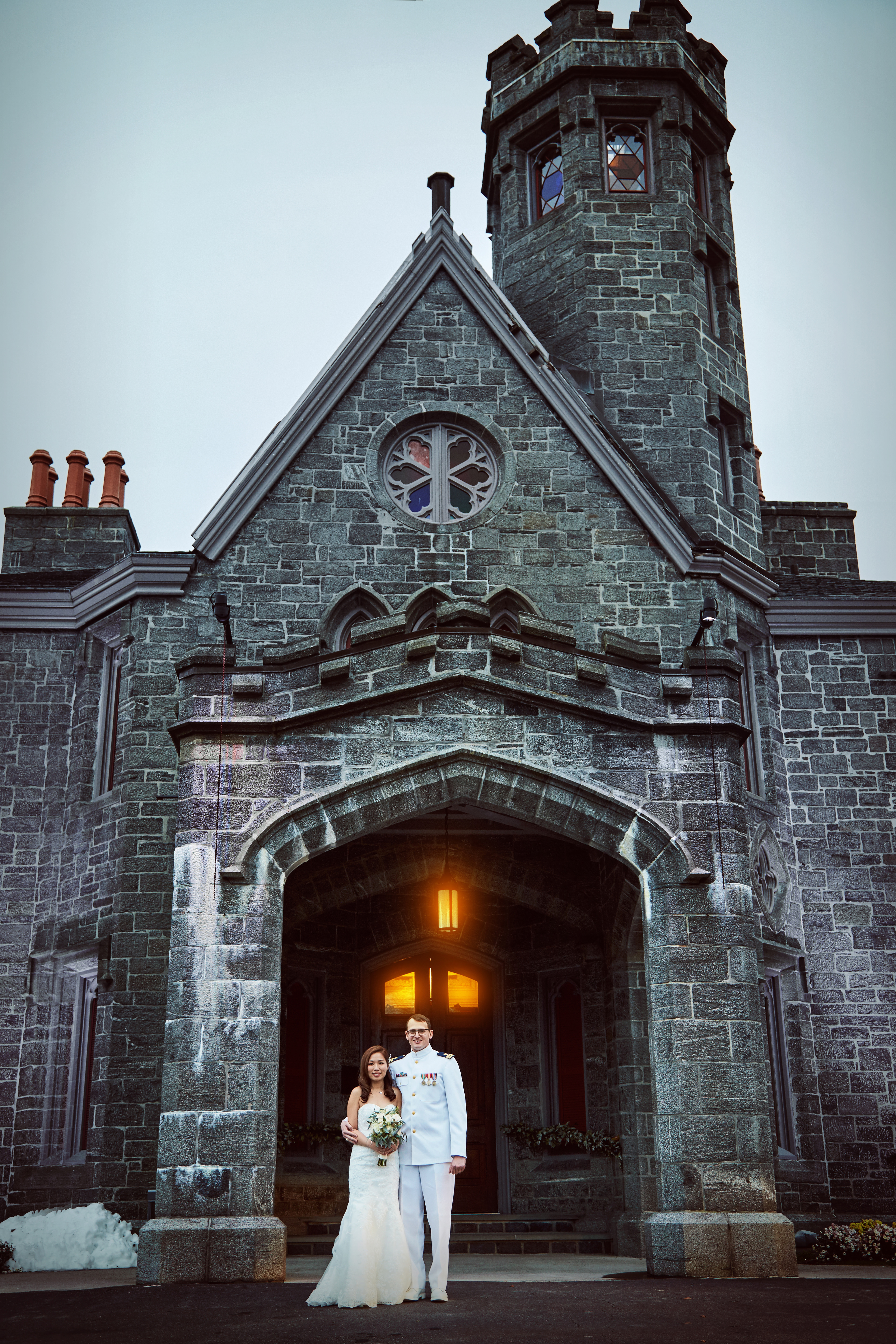 Destination Wedding Photographers in Whitby Castle New York