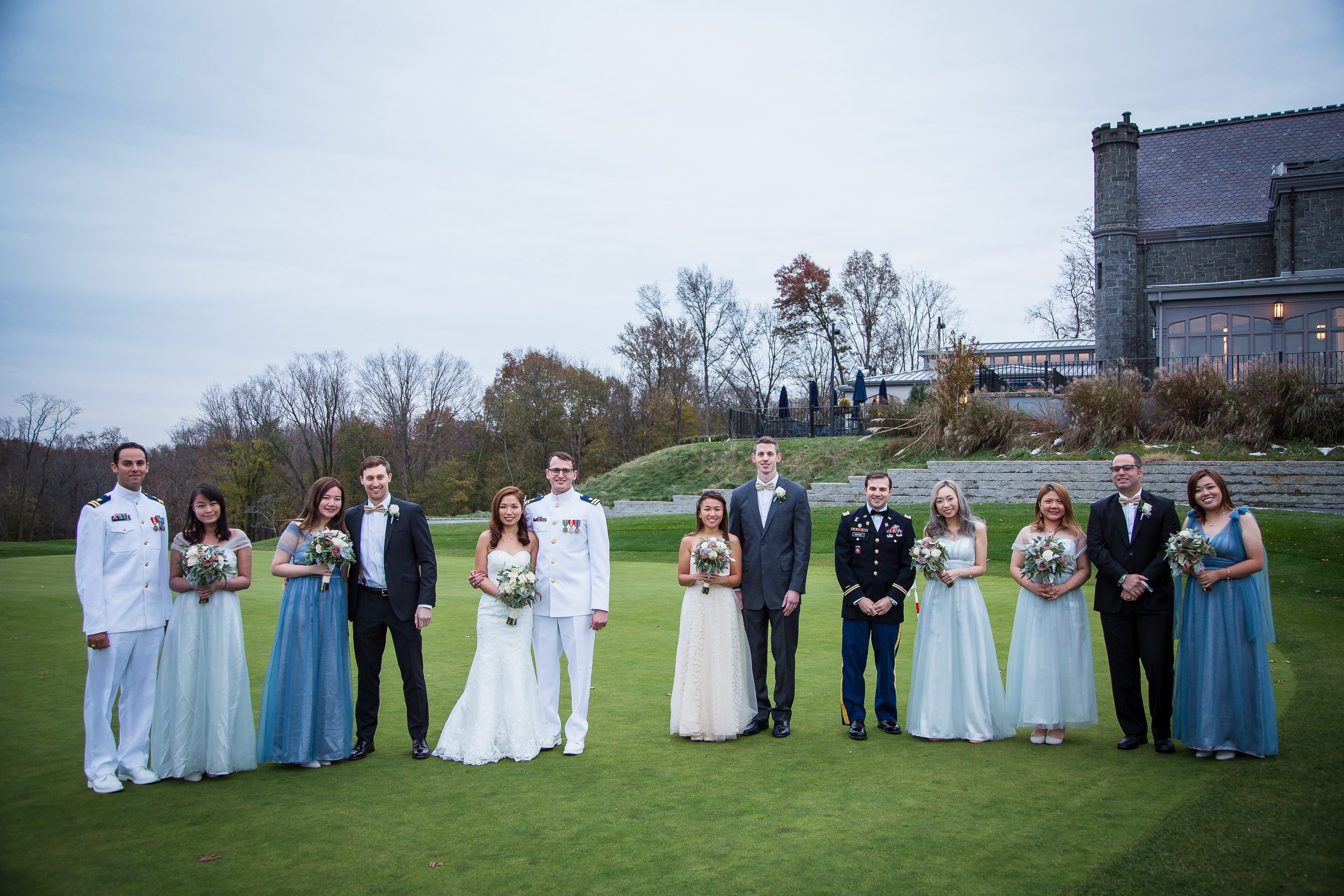 Wedding Photography in Whitby Castle New York Wedding